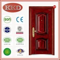 China Luxury Entry Steel Door KKD-332 for Residential Apartment wholesale
