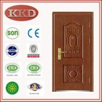 China Steel Security Door KKD-503 with Invisible Hinge for Customization wholesale
