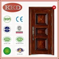 China Luxury Dull Polish Steel Door KKD-110 for Cottage Security wholesale