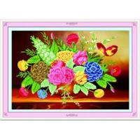 China 5d DIY Diamond painting coloful flower home decoration accessories wholesale