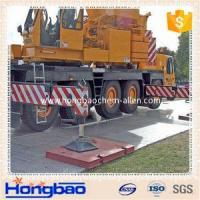 China Non -slip board for strong construction crane pads/ temporary road protection outrigger pa wholesale