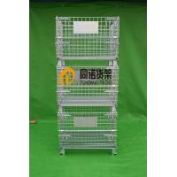 China Boltless Shelving Storage Cage,Wire Mesh Container wholesale
