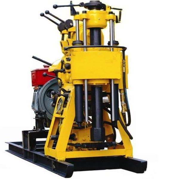 Quality HWD-230 diesel engine borehole water well drilling rig machine for sale for sale