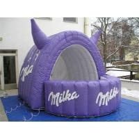 Inflatable Milka Sampling Booth Details