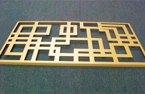 Quality Golden aluminum plate carving, engraved aluminum plate for sale