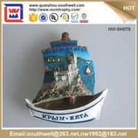 China Popular Stylish Decoration Customized 3D Resin Country Souvenir Fridge Magnets wholesale