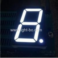 China Common anode Single-digit 1.5 seven segment WHITE LED Display on sale