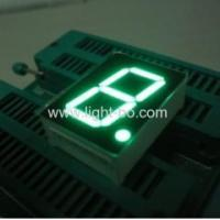 China Pure Green 1-inch common anode single digit seven segment numeric led displays wholesale