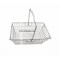 Wholesale Supermarket wire shopping basket from china suppliers