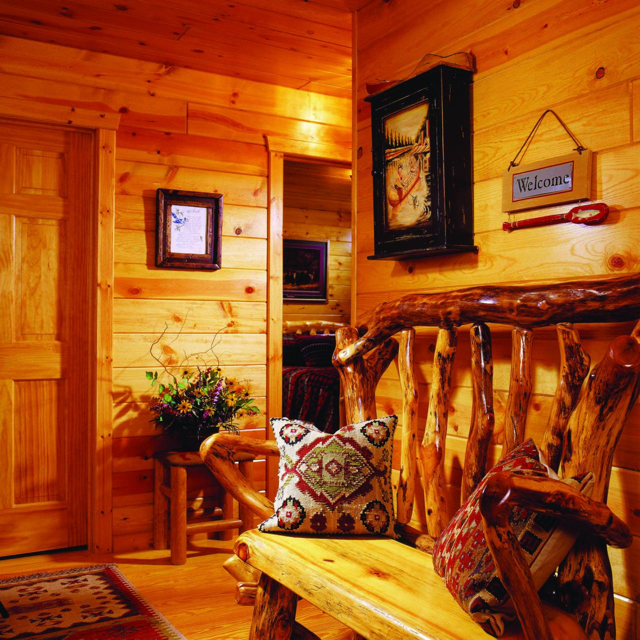 Wholesale Mountain Lodge Pine Paneling from china suppliers