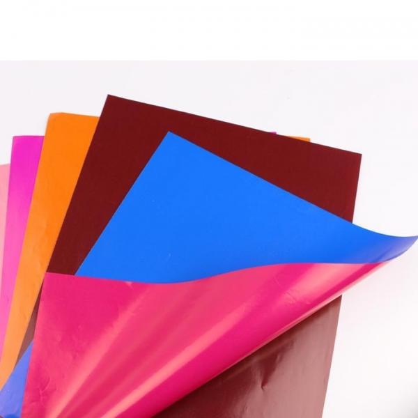 China two-side different color paper art paper coated paper