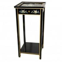 China Fine Lacquer Furniture Oriental Pedestal wholesale