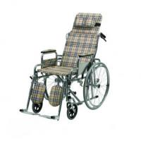 Wholesale Wheelchairs Chrome-plated Reclining Wheelchair from china suppliers