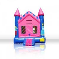 Wholesale pink castle bounce XZ-BH-083 from china suppliers