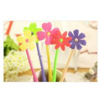 OF118 Flower shape flexible ballpoint pen