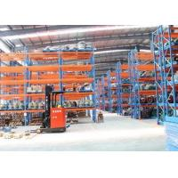 China Cold Roll Steel Pallet Storage Racks / Multi Tier Racking System 88*66*2.0 Mm Uprights wholesale