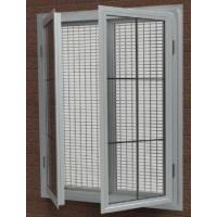 China aluminum swing window YMSWW6American style hand crank windows with fixed flyscreen on sale