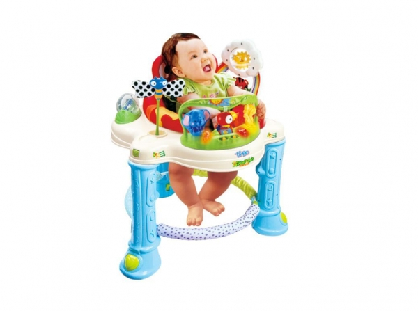 Multi Function Music Baby Walker 360 Rotating Seats Of