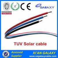 China China Tinned Copper Conductor XLPE Insulation & Sheath TUV Solar Cable 4mm2 wholesale