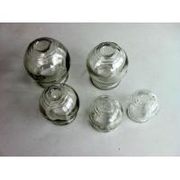 China 10pcs stanless steel with one tube Glass Cupping Jar on sale