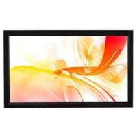 "100"" PVC fabric fixed frame projector screen"