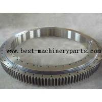 Slewing bearing with external gear