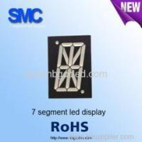 China 1.0 inch red color 1 digit led display for different uses/7 segment led display wholesale
