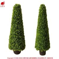 Wholesale Artificial plastic topiary hedge grass tree tower for christm from china suppliers