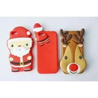 China Promotional gift candy color Christmas iphone 6 case with OEM design wholesale