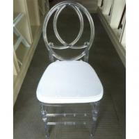 China Clear Plexi Resin Phoenix Chair wholesale