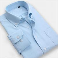 China Men Shirt Men wear solid color long-sleeved business shirt iron shirts wholesale