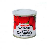 China CANADA'S Pure Raspberry Jam 16oz. on sale