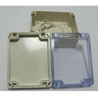 China Plastic injection parts ABS sealed plastic waterproof enclosure wholesale