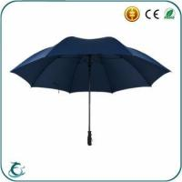 China Popular brand fashion advertising windproof golf umbrella for promotion wholesale