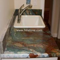 China Stone Vanity Tops Louise Blue Granite Vani wholesale