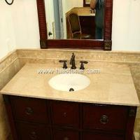 China Stone Vanity Tops Botticino Classico Marbl wholesale