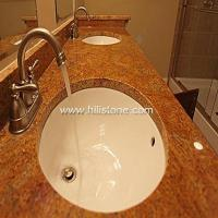 China Stone Vanity Tops Madura Gold Granite Vani wholesale