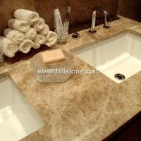 China Stone Vanity Tops Emperador Light Marble V wholesale