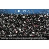 Fireplace Glass Crystals Deep Purple Crystal Diamond Fireplace Glass