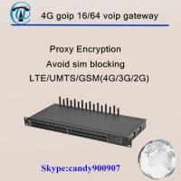 Buy cheap GoIP made in china goip 16/64 gsm gateway gsm sim box 4G gsm gateway 16 port from wholesalers