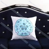 Embroidered Jelly Fish Cushion Cover Modern Decorative Throw Pillows for couch