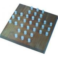 China Wooden solitaire board game / chess game set / wooden chess pieces wholesale