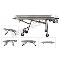 China Aluminum alloy Funeral Stretcher Adjustable height NF-A9-1 wholesale