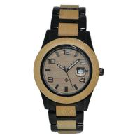 China Eco-friendly Natural Wood And Alloy Watch wholesale