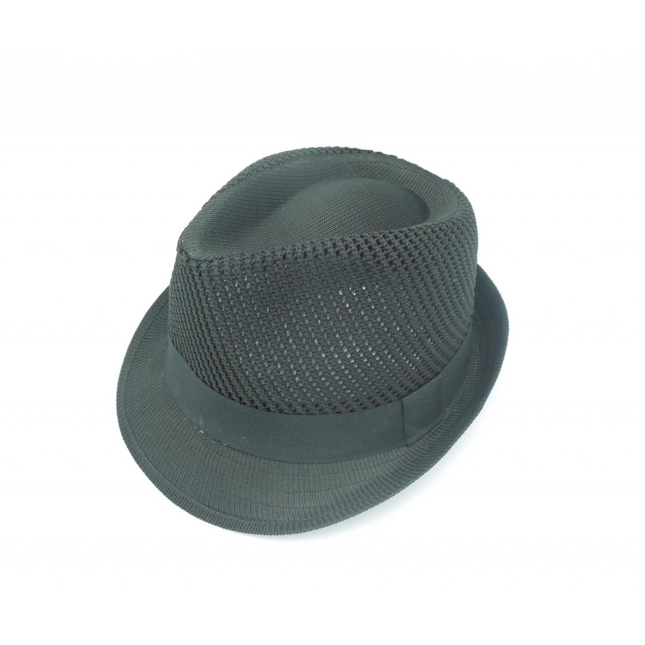 China Men's 2012 New Style Fashionable Fedora Hat with Knitted Brim on sale