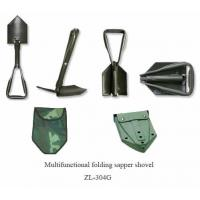 Wholesale Multifunctional Folding Sapper Shovel ( Model Number : ZL-304G ) from china suppliers