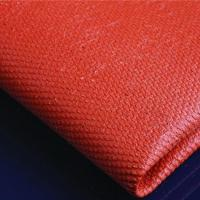 China Silicone coated Fiberglass Cloth fabric 0.43mm black wholesale