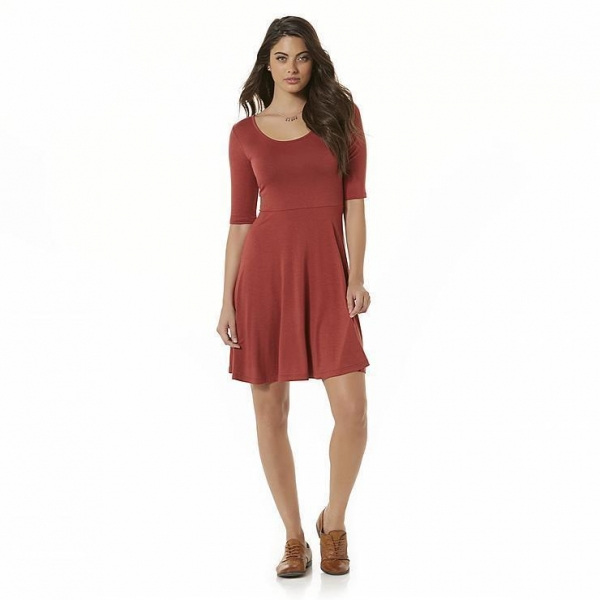 Quality Simply Styled Women's Jersey Knit Skater Dress for sale