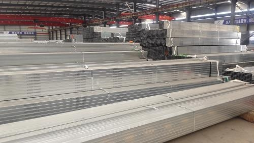 Quality sch40 A36 S235 st37 Pre galvanized square tube for sale