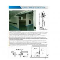 Buy cheap BLUEPRINT industry automatic door from wholesalers